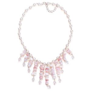 Ожерелье из Розового Опала CJ226