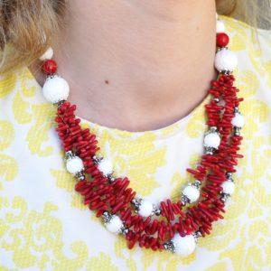 Ожерелье из Коралла CJ233