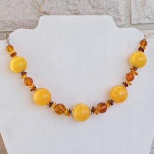 Ожерелье из Янтаря CJ140