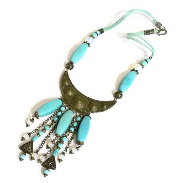 Женское Ожерелье из Бирюзы