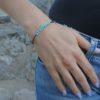 Тонкий браслет из Бирюзы